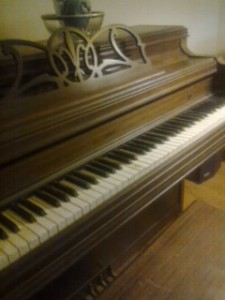 Baldwin Upright Piano circa 1940s