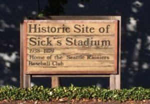hendrix story - sicks stadium now
