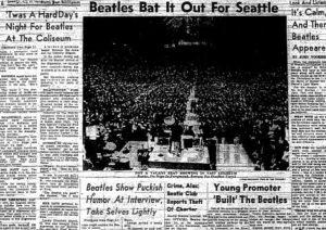 Beatles tough press